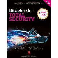 BitDefender Total Security 2017 - 1 Device, 1 Year