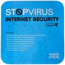 Stop Virus F Secure Internet Security 1 User, 1 Year, 10 users
