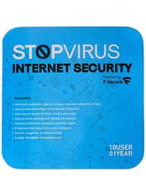 Stop Virus F-Secure Internet Security - 10 User, 1 Year (Voucher)