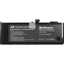 NewerTech NuPower 78 W-Hr Compatible Bat for MacBook Pro 15  Unibody Mid-2009 & Mid-2010 (A1321/NWTBAP15MBU78N)