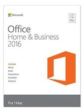 Microsoft Office Home and Student 2016 - MAC - No Media/ DVD - Product Key Inside (Word, Excel, PowerPoint, OneNote) for 1 MAC