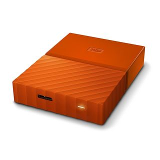 WD 2TB My Passport Portable External Hard Drive (Orange) - WDBYFT0020BOR