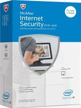 Mcafee Internet Security- 1 User 1 Year