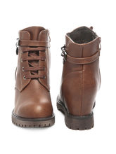 TEN Leather Boots (TENMBTTBI-029BRW01), 39, brown