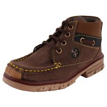 Rigau Kid'S Brown Colored Trekking And Hiking Boots (B076JC5WWV), 7