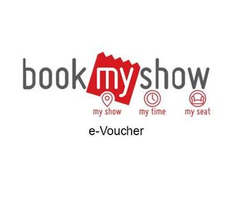 Book my Show E-Voucher, 500