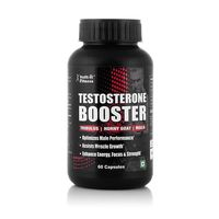 Healthvit Fitness Testosterone Booster Supplement, Boost Men Muscle Growth & Energy, 90 Capsules.