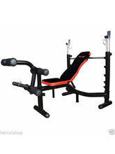 Pro Bodyline Club Class Multi Weight Bench With Incline-Flat-Decline Bench Press, multicolor