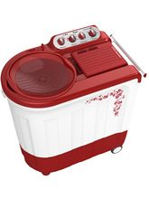 Whirlpool Ace 8.5 Stainfree Semi Automatic Washing Machine, red