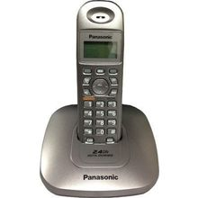 Panasonic KX-TG3611 Cordless Landline Phone,  metallic