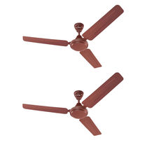 Eveready 1200mm FAB M Brown Ceiling Fan Pack of 2