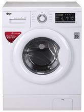 LG FH0G7NDNL02 6 Motion DD Front Loading Washing Machine, blue white