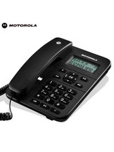 Motorola Ct202I Corded Phone With Caller Id & Speaker Phone, black