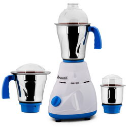 Anjalimix Avion White Mixer Grinder with 3 Jar 1000 watts,  white