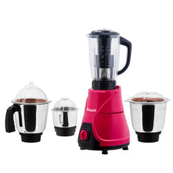Anjalimix MOJO Mixer Grinder With 4 Jar 600 watts,  magenta