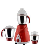 Anjalimix Mixer Grinder Spectra 750 Watts With 3 Jars, red