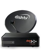 Dish TV HD+ with 1 Month Free Titanium Fullon HD Pack