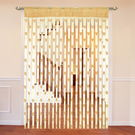 Cortina Heart Shape String Curtain (String-005),  beige