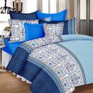 Ahmedabad Cotton Basics Cotton Double Bedsheet With 2 Pillow Covers (ACB20D00098)