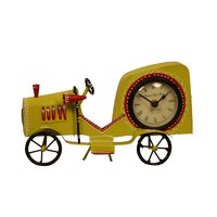 Cocovey Antique Metal Car Style Clock (C111039),  green
