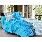 Ahmedabad Cotton Basics Cotton Double Bedsheet With 2 Pillow Covers (ACB20D00007)