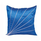 India Furnish Stripe Blue Cushion Covers (Pack Of 5)