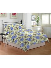 Bombay Dyeing 140 Tc Floral Bedsheet With Two Pillow Cover