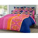 Ahmedabad Cotton Premium Sateen Procaine Double Bedsheet