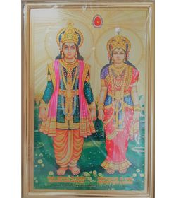 751 - Photo Frame - Lakshmi Narayan - Small