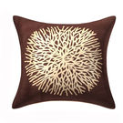 India Furnish Centerflower Brown Cushion Covers (Pack Of 5)