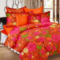 Ahmedabad Cotton Basics Cotton Double Bedsheet With 2 Pillow Covers (ACB20D00094)