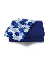 Haus & Sie Peony Blue Bed in a Bag