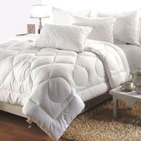 India Furnish All Seasons 350 GSM Double Bed Winter Quilt White
