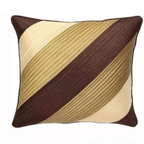 India Furnish Quilt Beige Cushion Covers (Pack Of 5)