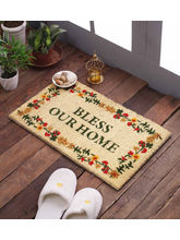 Swhf Premium Coir And Rubber Quirky Design Door And Floor Mat - Bless Your Home
