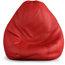 India Furnish Bean Bag Cover- Red Color (Without Beans), xl