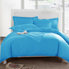 Ahmedabad Cotton Solids Cotton Double Bedsheet