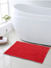 Swhf Zigzag Bath Mat - Red