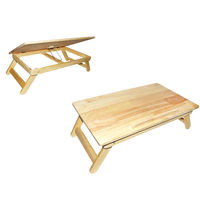 Ginnie & Ginnie Laptop Table Deluxe Rubber Wood