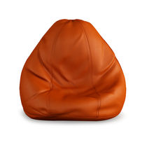 India Furnish Bean Bag Cover- Orange Color (Without Beans), xxl