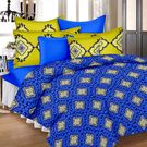 Ahmedabad Cotton Basics Cotton Double Bedsheet With 2 Pillow Covers (ACB20D00113)