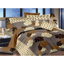 Ahmedabad Cotton Aspire Satin Double Bedsheet