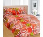 Cortina Cortina Double Bedsheet With Tow Pillow Cover-046-B (PDB-046-D), multicolor
