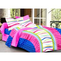 Ahmedabad Cotton Abstract 100% Cotton Double Bedsheet