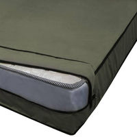 India Furnish Full Cover Zippered Waterproof Mattress Protector - 75 x 36, Green