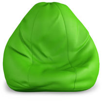 India Furnish Bean Bag Cover- Green Color (Without Beans), xxxl