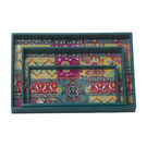 Monogram 3 Pcs Set Mdf Wooden Serving Tray With Special Coating– Multicolor