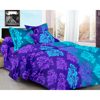 Ahmedabad Cotton Basics 100% Cotton Double Bedsheet AM