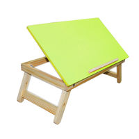 Ginnie & Ginnie Laptop Table Coloured-Green