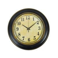 Cortina Round Analog Wall Clock-036,  beige